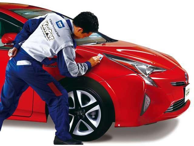 Aプラン画像:『 コーティング後、基本的には洗車だけ、ノーメンテナンス!ガラスの厚みと密度で、より深いツヤを生むボディガラスコーティングです。金額は車種によって異なりますのでご相談くださいませ。 』