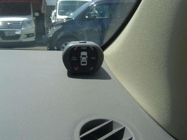 コーナーセンサーも付いて安心です!
