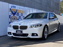 BMW 5シリーズ 523d Mスポーツ ディーゼルターボ ブラウンレザー シートヒーター付き