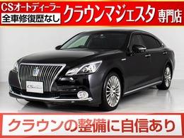 トヨタ クラウンマジェスタ 3.5 Fバージョン 黒革/レーダーC/後席VIP/BSM/LEDライト