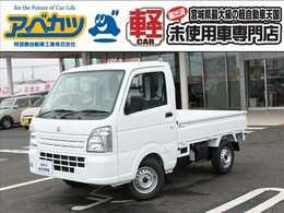スズキ キャリイ 660 KCエアコン・パワステ 3方開 4WD 届出済未使用車 5MT 軽トラ