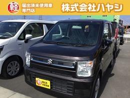 スズキ ワゴンR 660 FA スズキ セーフティ サポート非装着車 届出済未使用車