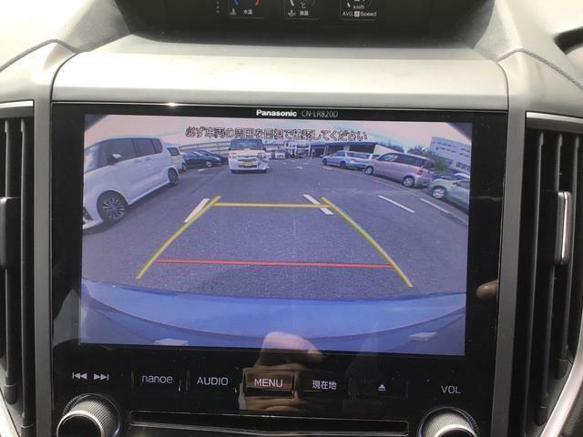 駐車バックカメラ付きで駐車も楽々!