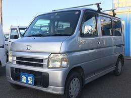 ホンダ バモス 660 M 4WD タイベル交換済み 5速MT ルーフキャリア
