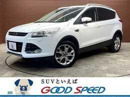 フォード クーガ タイタニアム 4WD SDナビTV 黒革シート HID ETC 4WD
