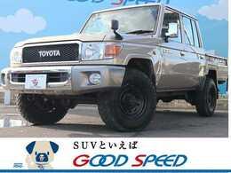 トヨタ ランドクルーザー70ピックアップ 4.0 4WD 4WD 6速ミッション デフロック