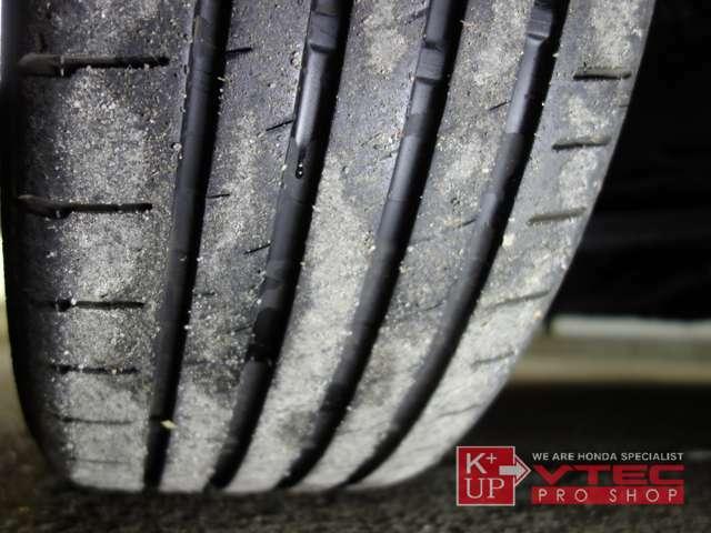 タイヤの溝もまだまだ使用OK!消耗後のタイヤ交換も是非当店にお任せ下さい!ハイグリップラジアルやスタッドレス等、お気軽にご相談下さい。タイヤ価格にも自信あり!!用途にあったタイヤをご提案させて頂きます