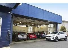 整備工場併設しております。車検整備~修理・点検までお任せ下さい!! 経験豊富なスタッフがご対応させていただきます。