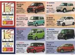 またその他にも1.3万円(税別)、1.5万円(税別)プランもございます。詳しくはhttp://www.kei4car.com/まで