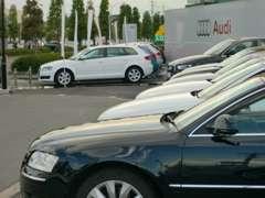 Audi山梨 認定中古車コーナー