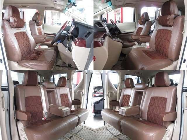 フィット感のあるアドミレイションレザーシートカバーの状態も良く、乗り心地も良く、長距離でも疲れを感じさせません。