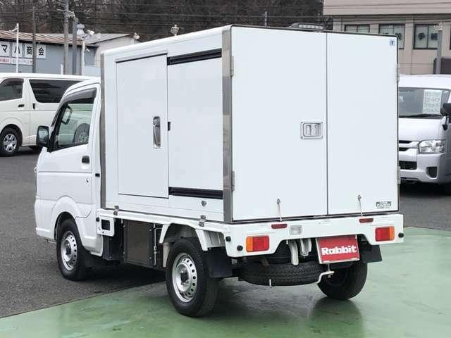 平成29年式 キャリィトラック 冷蔵冷凍車