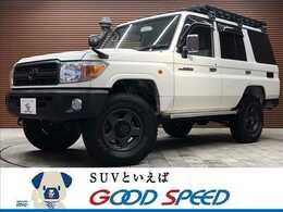 トヨタ ランドクルーザー70 4.0 4WD SDナビTV ブラッドレー16AW Rラダー 4WD