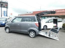 ホンダ ゼスト 車いす仕様車 4人乗りリアシート有 スローパー アルミ CD キーレス 福祉車両