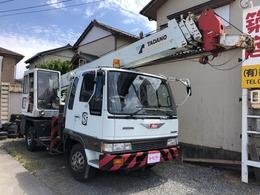 日野自動車 レンジャー トラッククレーン車 TS-75M 長7.68 幅2.18 高3.24