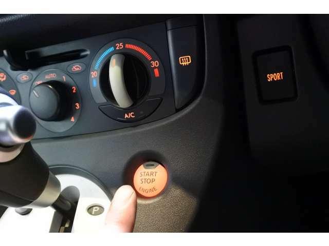 Bプラン画像:◇◆Bプラン◆◇現行車と同じような操作でエンジン始動が可能です♪キーを取り出す手間も挿して回す手間もなくなります♪