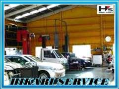 【整備工場】民間車検整備工場も完備しております!車検・修理・板金など車のご相談はぜひ光サービスまで!