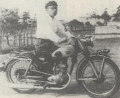 戦争が終わるとすぐに兄勇は自分の手で本格的なオートバイ(イーグル号)を開発,生産するという夢を実行に移しました。