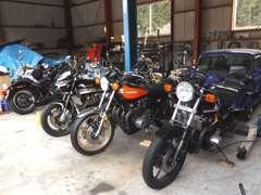 旧車バイクのメンテナンスも致します。