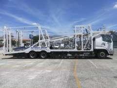 全国陸送登録納車が可能  自社の積載車で修理などのお引き取りも可能