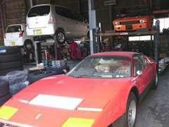 整備工場完備!旧車、外車も対応可能です!