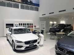 ショールーム内にも展示車をご用意していますので、エアコンの効いた室内でゆっくりご検討ください