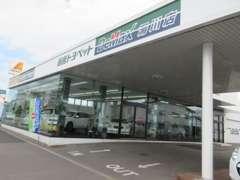 函館トヨペットの中古車専門店、BeMax湯川がオープン!屋内展示場も完備で天候を気にせずご覧いただけます。