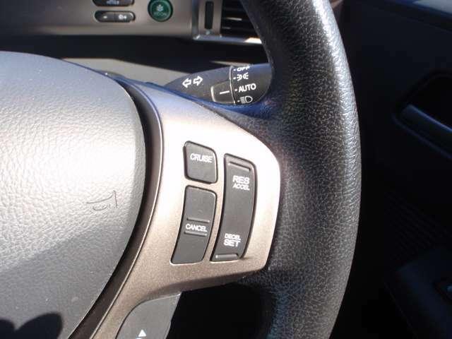 【クルーズコントロール】付きで長距離や高速道路走行もストレス軽減^^