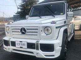 メルセデス・ベンツ Gクラス G500 ロング 4WD /G63仕様/22AW/Bカメラ/黒革シート