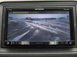 駐車も安心のリアカメラ!