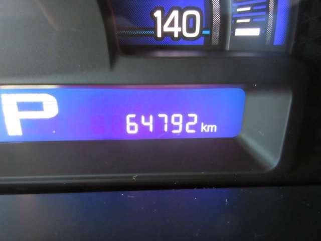 走行距離は約6万5千kmほどです。まだ走れますのでモコと一緒にドライブへ出かけましょう!