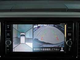 真上からの映像で駐車をサポートするアラウンドビューモニター♪