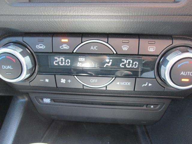 使いやすいレイアウトの空調スイッチ類です。スイッチも大きく、気温に合わせて直観的な操作ができそうですね。車内をいつでも快適に保つことができます。