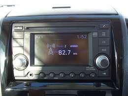 CDチューナーつきで車内は素敵な音楽空間に早変り!