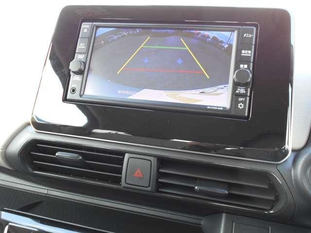 バックカメラ・フルセグTV・CDチューナー付きナビゲーション搭載車です。