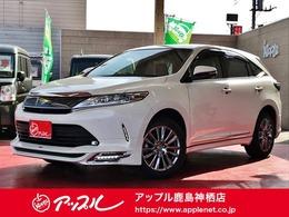 トヨタ ハリアー 2.0 プログレス 4WD /全方位モニター/禁煙車/TRDエアロ/