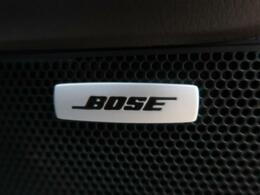 BOSEサウンドシステム装備でございます!