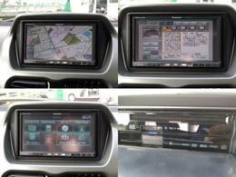 音楽が録音できるHDDナビまた、クリアーな画質で見れるフルセグTVが