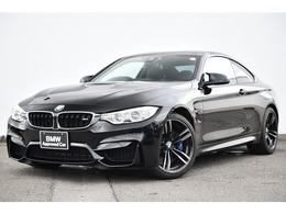 BMW M4クーペ M DCT ドライブロジック ワンオーナー黒革アダプティブLEDHUD