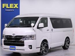 トヨタ ハイエース 2.7 GL ロング ミドルルーフ 4WD FLEX内装架装Ver2/ツインナビPKG