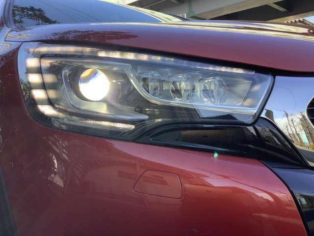 明るく視認性の良いHIDヘッドライト!