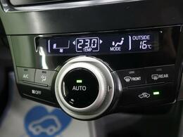 ◆寒い冬も暑い夏でも全席に快適な空調を届ける【フルオートエアコン】