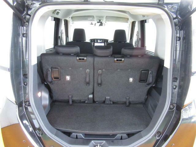 簡単な荷物が載せられるトランクルーム