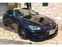 BMW 6シリーズグランクーペ 640i Mスポーツパッケージ 白革 ガラスSR ACC 禁煙車