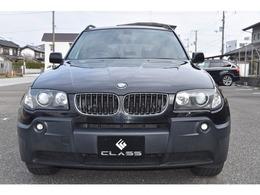 BMW X3 2.5i 4WD パワーシート iドライブ・ナビ HID