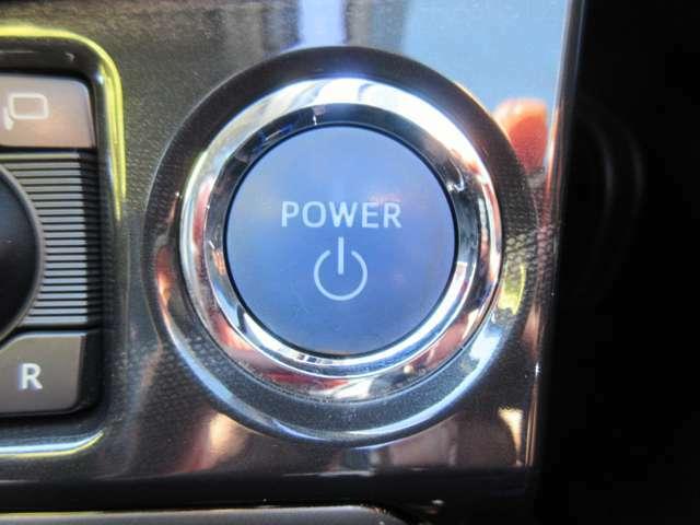 エンジンプッシュスタート☆鍵はポケットに入れておくだけでOKです。