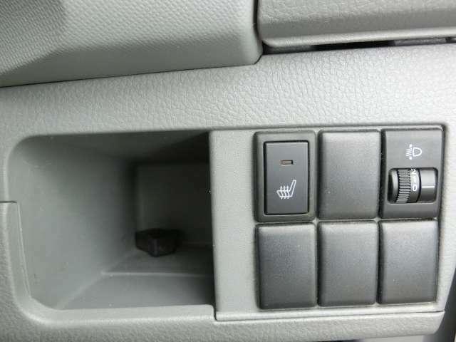 運転席シートにシートヒーター付!