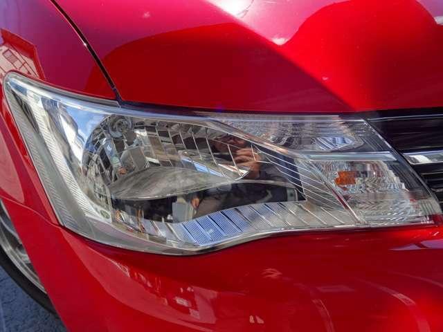 ヘッドライトもピカピカに磨いてます♪さらに納車時にはコーティングしてお渡しします!