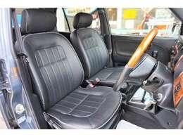 プロテインレザーシートで車内はより一層高級感に包まれています!