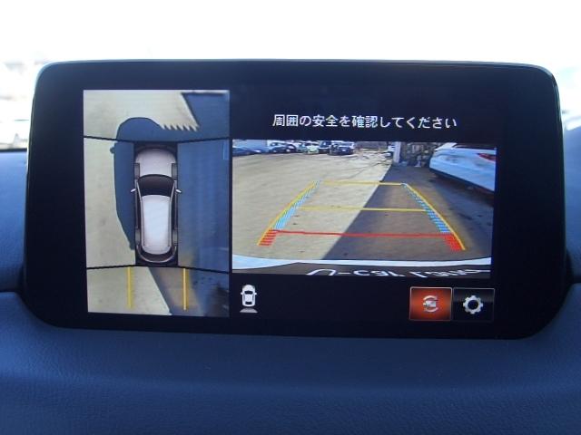 360度ビューモニター装備です 車庫入れも安心です